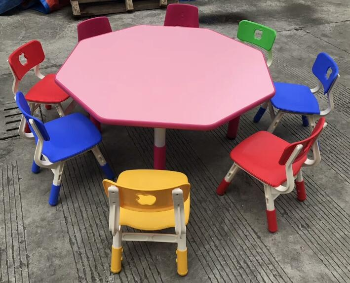 kids play and learn table for kindergarten