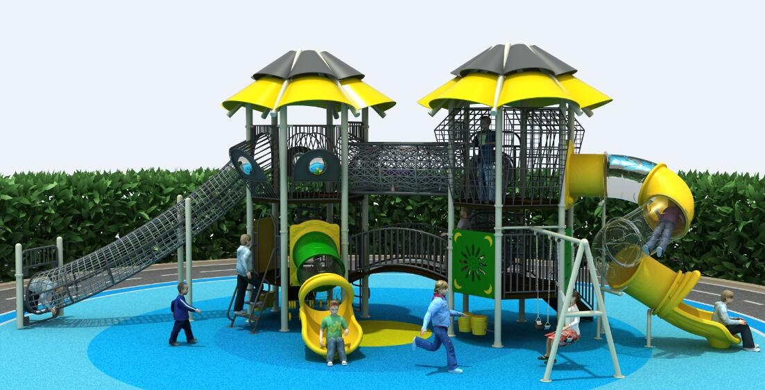 kids rope playground for outdoor park