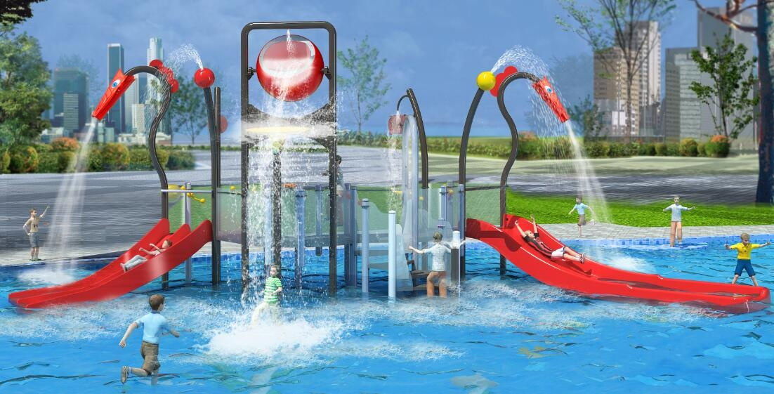 splash water slide China supplier