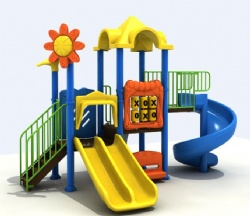 small playground for nursery