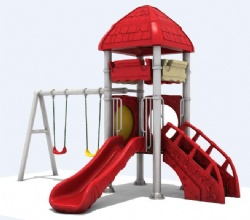 outdoor play unit for amusement park