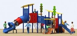 outdoor play structure for primary school
