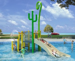 Outdoor aqua playground supplier stainless steel