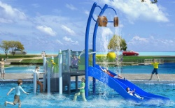 Sea beach aqua park resort China manufacturer