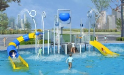 Kids water playground system China exporter