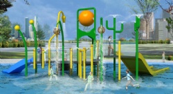 water spray play structure Canton Fair