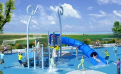 water spray park equipment China manufacturer