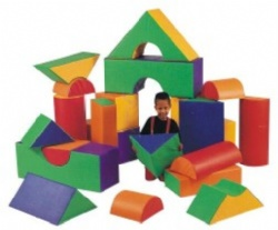 soft play for toddlers block set