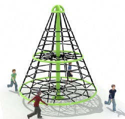 climbing net kids roundabout for playground