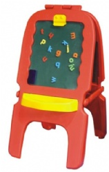 kids plastic drawing board for daycare play centre