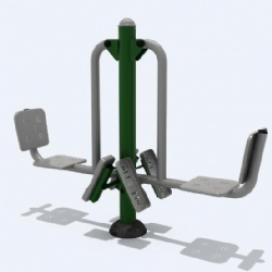 Community outdoor exercise equipment Chile supplier