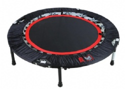 Fitness trampoline for rebound exercise 2020