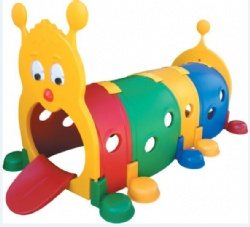kids plastic caterpillar tunnel for sale
