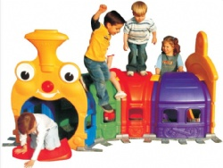 preschool play tunnel for kids play room