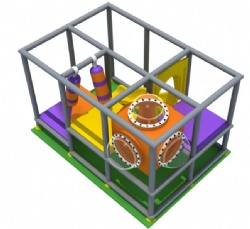 Indoor playground maze house for sale