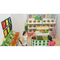child play land supermarket role play area