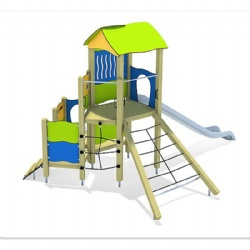 outdoor rope climbing play unit for sale